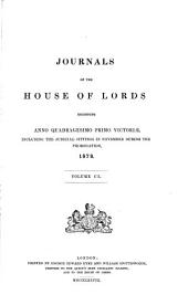 Journals of the House of Lords: Volume 110