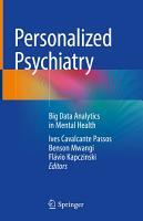 Personalized Psychiatry PDF