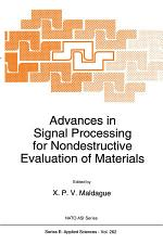 Advances in Signal Processing for Nondestructive Evaluation of Materials