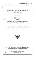 Television Network Program Procurement PDF