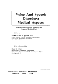 Voice and Speech Disorders  Medical Aspects PDF