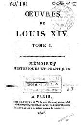 Mémoires historiques et politiques