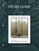Study Guide for Fundamentals of Multinational Finance PDF