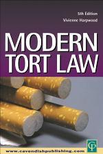 Modern Tort Law 6/e