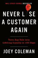 Never Lose a Customer Again PDF