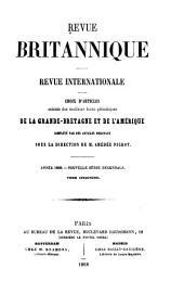 Revue britannique: Revue internationale reproduisant les articles des meilleurs écrits periodiques de l'étranger, complètés par des articles originaux, Volumes5à6