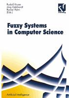 Fuzzy Systems in Computer Science PDF