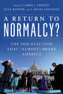 A Return to Normalcy  PDF