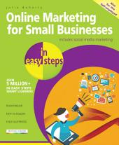 Online Marketing for Small Businesses in easy steps - covers social network marketing