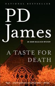 A Taste for Death Book