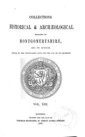 The Montgomeryshire Collections: Volume 13