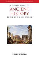 A Companion to Ancient History PDF