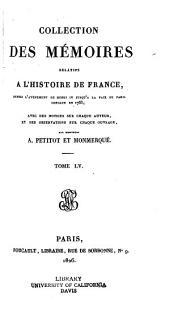 Collection des mémoires relatifs à l'histoire de France: ... [sér. 1] t. 1-52, 1819-26; [sér. 2]