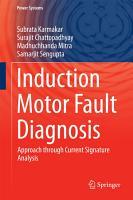 Induction Motor Fault Diagnosis PDF