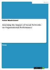 Assessing the Impact of Social Networks on Organisational Performance