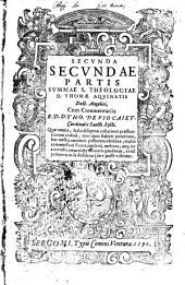 Summa sacrae theologiae: In Tres Partes Divisa, Et quattuor distincta Tomis, Volume 2, Issue 2