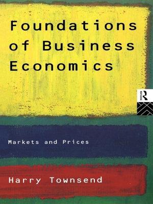 Foundations of Business Economics