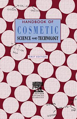 Handbook of Cosmetic Science   Technology PDF
