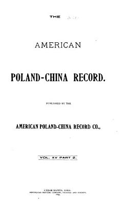 American Poland China Record PDF