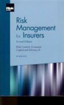 Risk Management for Insurers