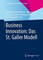 Business Innovation  Das St  Galler Modell PDF