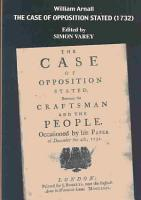 The Case of Opposition Stated  Between the Craftsman and the People PDF