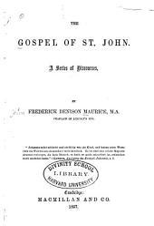 The Gospel of St. John: a series of discourses
