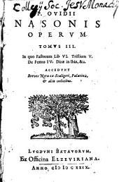 Publii Ovidii Nasonis Operum ...
