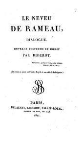 Le Neveu De Rameau, Dialogue