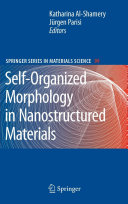 Self-Organized Morphology in Nanostructured Materials