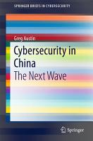Cybersecurity in China PDF
