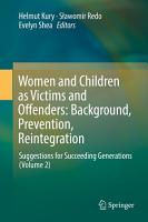Women and Children as Victims and Offenders  Background  Prevention  Reintegration PDF