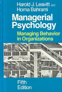 Managerial Psychology PDF