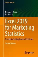 Excel 2019 for Marketing Statistics