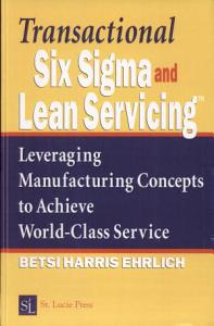 Transactional Six Sigma and Lean Servicing PDF