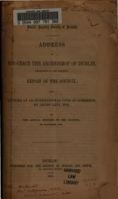 Lecture on an international code of commerce