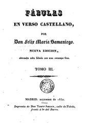 Fábulas en verso castellano,: Volumen 1