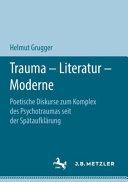 Trauma – Literatur – Moderne