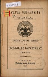 Official Register of the Louisiana State University