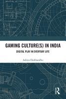 Gaming Culture s  in India PDF