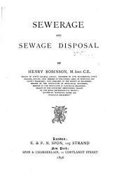 Sewerage and Sewage Disposal