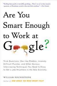 Are You Smart Enough to Work at Google  Book