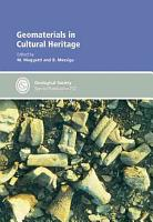 Geomaterials in Cultural Heritage PDF