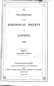 Proceedings of the Zoological Society of London  1832   PDF