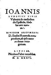 De conscribendis Epistolis libellus vere aureus
