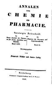Justus Liebig's Annalen der Chemie: Bände 69-70