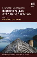 Research Handbook on International Law and Natural Resources PDF