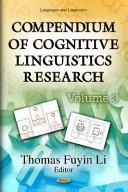 Compendium of Cognitive Linguistics