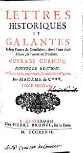 Lettres historiques et galantes: Volume2