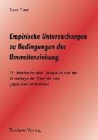 Empirische Untersuchungen Zu Bedingungen Der Umwelterziehung
